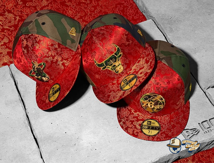 Dragon Satin 59Fifty Fitted Cap Collection by NBA x New Era