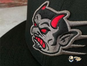Flying Demon 59Fifty Fitted Hat by Chamucos Studio x New Era Front