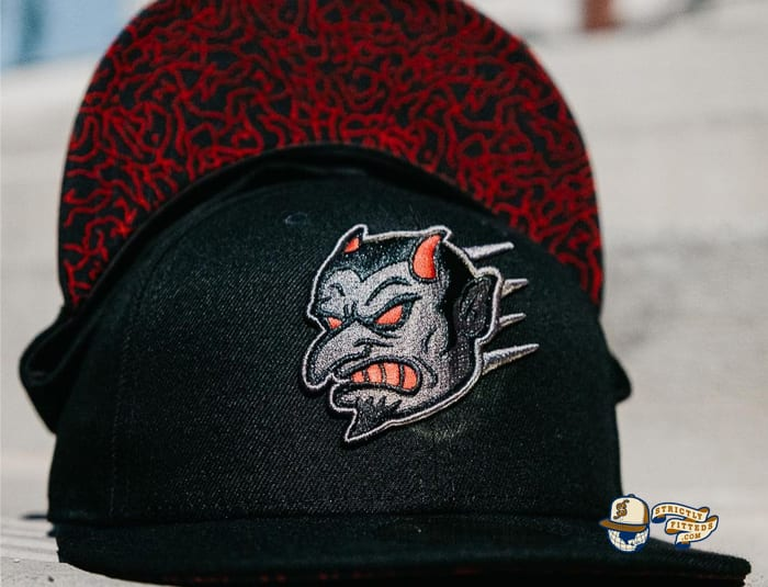 Flying Demon 59Fifty Fitted Hat by Chamucos Studio x New Era
