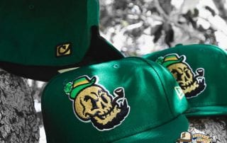 Golden Domers Kelly Green 59Fifty Fitted Hat by Chamucos Studio x New Era