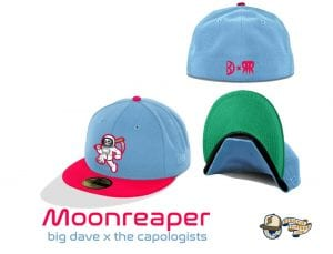 House of Pain Moonwalker 59Fifty Fitted Cap Collection by Uncle Dave x The Capologists x New Era Moonreaper