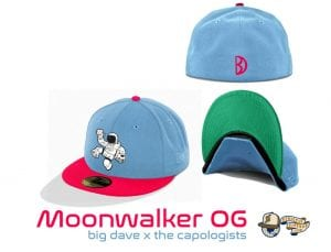 House of Pain Moonwalker 59Fifty Fitted Cap Collection by Uncle Dave x The Capologists x New Era OG