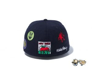 Keith Haring 2020 59Fifty Fitted Cap Collection by Keith Haring x New Era Back