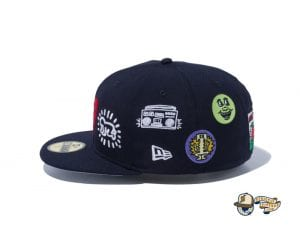 Keith Haring 2020 59Fifty Fitted Cap Collection by Keith Haring x New Era Left