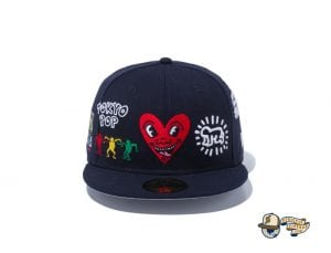 Keith Haring 2020 59Fifty Fitted Cap Collection by Keith Haring x New Era Multi