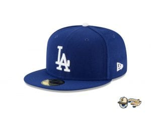 Los Angeles Dodgers World Series Champions Side Patch 59Fifty Fitted Cap by MLB x New Era Left