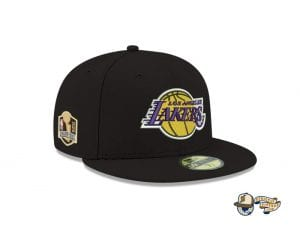 Los Angeles Lakers NBA Champions Side Patch 59Fifty Fitted Cap by NBA x New Era