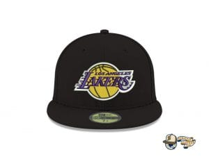 Los Angeles Lakers NBA Champions Side Patch 59Fifty Fitted Cap by NBA x New Era Front