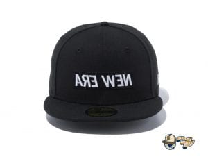 Mirror Box Logo 59Fifty Fitted Cap by New Era Front