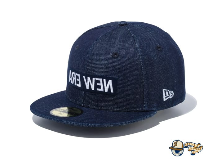Mirror Box Logo 59Fifty Fitted Cap by New Era
