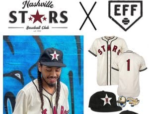 Nashville Stars 2020 Fitted Ballcap by Ebbets Collection