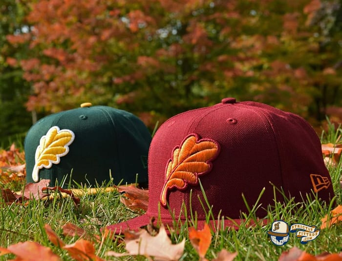 Oak Leaf 59Fifty Fitted Cap by Noble North x New Era