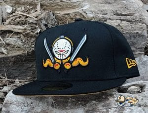 OctoSlasher Black Tan 59Fifty Fitted Hat by Dionic x New Era Front