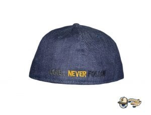 Seal Raw Denim 59Fifty Fitted Hat by Leaders 1354 x New Era Back