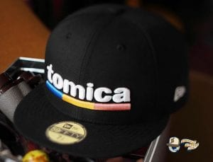 Tomica Black Snow White 59Fifty Fitted Cap by Tomica x New Era