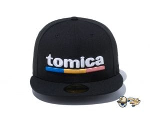 Tomica Black Snow White 59Fifty Fitted Cap by Tomica x New Era Front