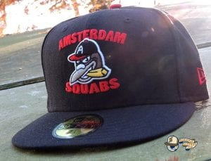 Amsterdam Squabs Black Green UV 59Fifty Fitted Hat by Dionic x New Era Front