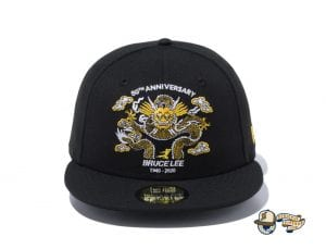 Bruce Lee 80th Anniversary 59Fifty Fitted Cap Collection by Bruce Lee x New Era Dragon