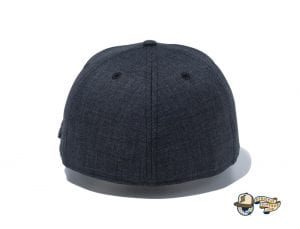 Chambray Metal Logo 59Fifty Fitted Cap by New Era Back