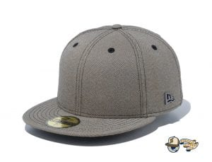 Chambray Metal Logo 59Fifty Fitted Cap by New Era Front