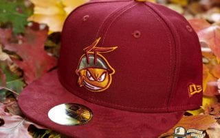 FireAnt Cardinal Suede Visor 59Fifty Fitted Hat by Dionic x New Era