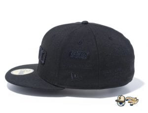 New Era 100th Anniversary Multi Logo Front 59Fifty Fitted Cap by New Era Left
