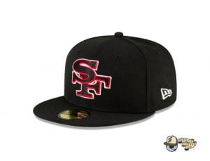 NFL Logo Mix 59Fifty Fitted Cap Collection by NFL x New Era Side