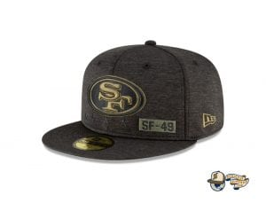 NFL Salute To Service 59Fifty Fitted Cap Collection by NFL x New Era Left