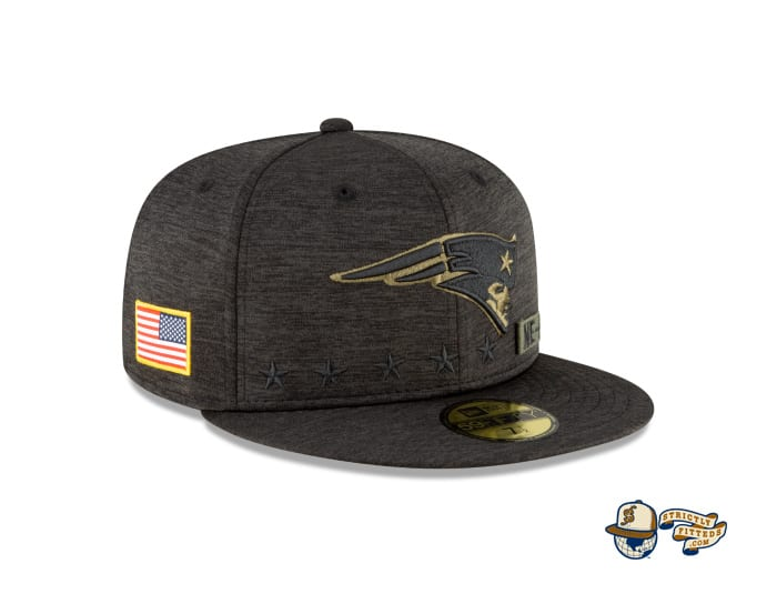 NFL Salute To Service 59Fifty Fitted Cap Collection by NFL x New Era
