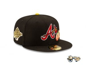Offset x Atlanta Braves 59Fifty Fitted Cap Collection by Offset x MLB x New Era Black