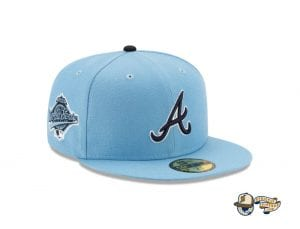 Offset x Atlanta Braves 59Fifty Fitted Cap Collection by Offset x MLB x New Era Blue
