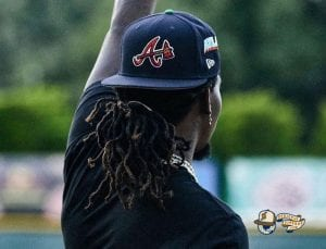 Offset x Atlanta Braves 59Fifty Fitted Cap Collection by Offset x MLB x New Era Side