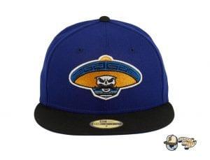 Revolutionary Alternate Royal Blue Black 59Fifty Fitted Hat by Dankadelik x New Era