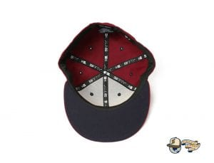 Vanguard Cardinal Multi 59Fifty Fitted Cap by Fitted Hawaii x New Era Bottom