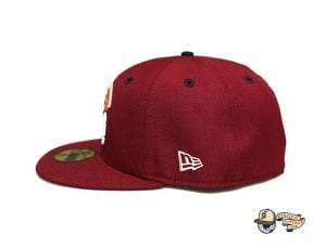 Vanguard Cardinal Multi 59Fifty Fitted Cap by Fitted Hawaii x New Era Side
