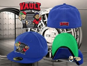 Views From The Vault Light Royal 59Fifty Fitted Cap by Views From The Vault x New Era