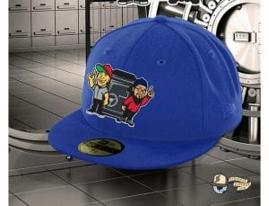 Views From The Vault Light Royal 59Fifty Fitted Cap by Views From The Vault x New Era Front