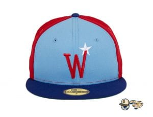 Washington Stars Prototype 59Fifty Fitted Cap by MLB x New Era Pinwheel