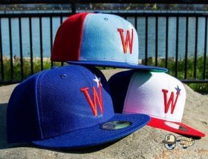 Washington Stars Prototype 59Fifty Fitted Cap by MLB x New Era Side