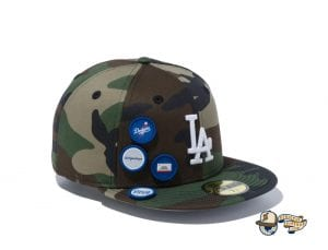6 Patch Woodland Duck 59Fifty Fitted Cap Collection by MLB x New Era Dodgers