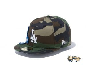 6 Patch Woodland Duck 59Fifty Fitted Cap Collection by MLB x New Era Left