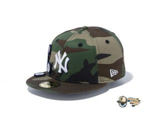 6 Patch Woodland Duck 59Fifty Fitted Cap Collection by MLB x New Era Yankees