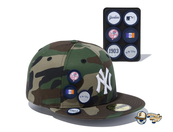 6 Patch Woodland Duck 59Fifty Fitted Cap Collection by MLB x New Era