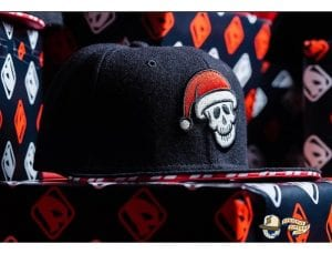 Amsterdam Marauders Silent Night Redux 59Fifty Fitted Hat by Dionic x New Era Front