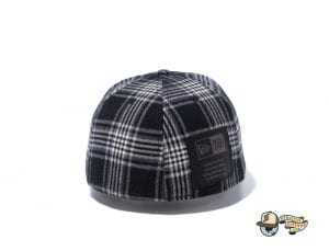 Black Label Patch 59Fifty Fitted Cap Collection by New Era Back