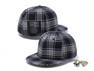 Black Label Patch 59Fifty Fitted Cap Collection by New Era Checkered