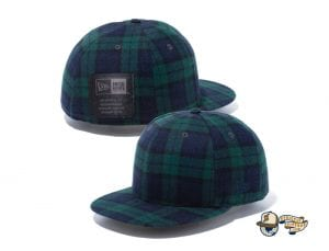 Black Label Patch 59Fifty Fitted Cap Collection by New Era Green