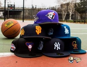 Diamond Crossover Hat Club 59Fifty Fitted Hat Collection by MLB x New Era Front