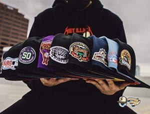 Diamond Crossover Hat Club 59Fifty Fitted Hat Collection by MLB x New Era Side