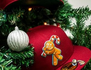 Gingerbread Man 59Fifty Fitted Hat by East Third Studio x New Era Front